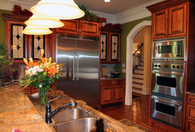 Kitchen appliances major appliances and small appliances for Gourmet kitchen designs