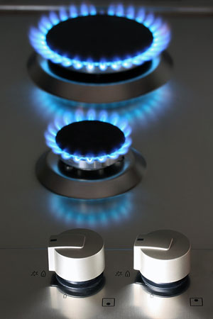 natural gas kitchen appliance